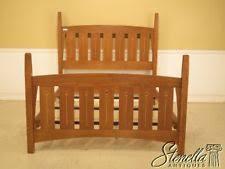 Harveys Bed Frames Arts Crafts Mission Style Oak Beds Bed Frames Ebay