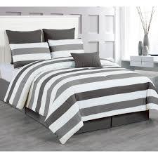 Charcoal Grey Comforter Set Duck River Rochester Grey 8 Piece Queen Comforter Set Rochester