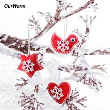 Chinese New Year Home Decor by Popular Christmas Felt Decorations Buy Cheap Christmas Felt