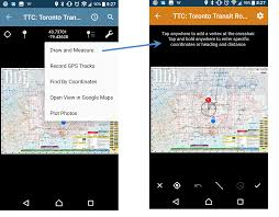 Draw On Google Maps Avenza Systems Inc Draw And Measure Tool Android