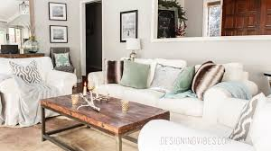 Glam Coffee Table by Rustic Glam Holiday Decor Home Tour Part 1