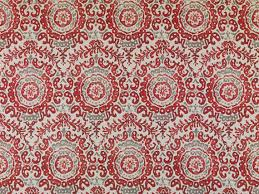 Batik Upholstery Fabric Red Batik Upholstery Fabric By The Yard Modern Grey Red Ikat
