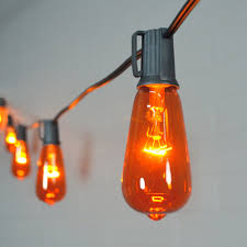 globe string lights 10 halloween edison bulbs outdoor 10 ft