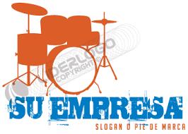 imagenes logos musicales logo de una batería liderlogo
