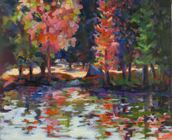 Fall Tree Decorations Workshop How To Paint Trees U0026 The Fall Landscape At Ironridge
