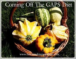 coming off the gaps diet homemaking with heart
