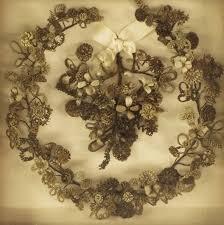 hair wreath hair wreaths creepy or cool hair hair