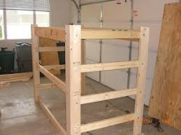 Free Plans For Loft Beds With Desk by Loft Bed Plans How To Build A Loft Frame For Dorm Bed Interior