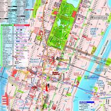 map of manhattan map manhattan material pocket new york theaters subway