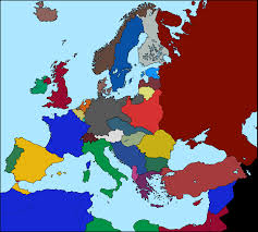 Europe Map Blank by Image Blank Map Of Europe 1936 Colors Png Thefutureofeuropes