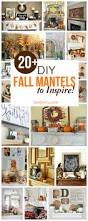 diy fall mantel decor ideas to inspire mantels autumn and