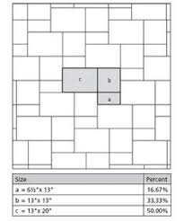 generate random tiling patterns with excel flooring and tile