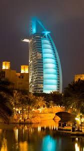 download wallpaper 2160x3840 burj al arab hotel dubai uae sky