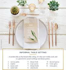 Formal Table Settings How To Style A Table For Every Occasion Checklist Eatwell101