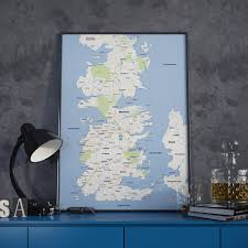 Etsy Maps Add A Little U0027game Of Thrones U0027 Style To Your Pad With This Google