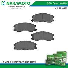 nakamoto front brake pad ceramic kit for chevy equinox pontiac