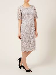 jacque vert lyst jacques vert luxury lace dress in gray