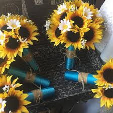 sunflower corsage best rustic wedding corsages products on wanelo