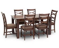 Dining Room Table With Chairs Baltimore 7 Pc Dining Room Set Furniture Row