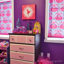 Purple Pink Bedroom - little c u0027s bright jewel toned bedroom win custom canvas art
