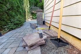 Patio Tools Stone Pavers And Tiles For Side Yard Patio Hardscape For Garden