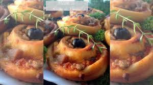 amour cuisine chez sihem recette facile de roulés au thon ou pizza rolls de amour de cuisine
