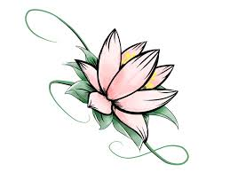 lotus clipart simple pencil and in color lotus clipart simple