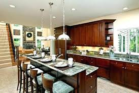 kitchen island bar designs impressive kitchen island with bar l shaped island with bar