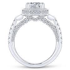 art deco engagement rings gabriel u0026 co vintage u0026 antique rings