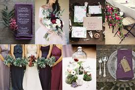 plum wedding burgundy and plum wedding inspiration grace