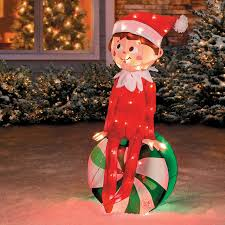 Christmas Yard Decorations Candy by Elf On The Shelf Peppermint Candy Christmas Yard Decor