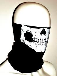 skeleton ghost mask amazon com skull tube face mask motorcycle tubular skeleton biker