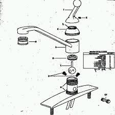 moen single lever kitchen faucet repair moen single handle kitchen faucet repair diagram kenangorgun com