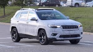 jeep cherokee blue 2018 jeep cherokee headlights spy photos motor1 com photos