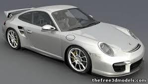 porsche 911 gt porsche 911 gt2 3d model obj max