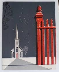 eyvind earle christmas cards 42 best eyvind earle greeting cards images on eyvind