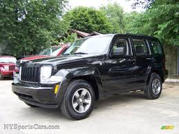 liberty jeep black 2008 jeep liberty sport 4x4 in brilliant black crystal pearl