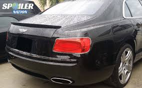 bentley continental flying spur 2015 2014 2017 bentley flying spur tesoro rear lip spoiler