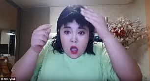 woman u0027s attempt at diy haircut goes horribly wrong daily mail online