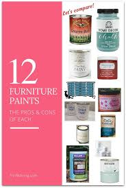 Best Paint For Furniture | what s the best paint for furniture thrift diving blog