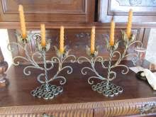 candelieri in ferro battuto candelabri ferro battuto annunci in tutta italia kijiji