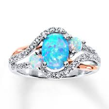 blue opal engagement rings engagement rings wedding rings diamonds charms jewelry from