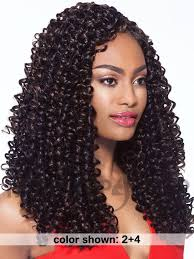 bohemian crochet braids outre collection x pression 4 in 1 loop bohemian curl