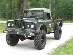 old military jeep truck kaiser build jeep m715 special jeeps trucks cars pinterest