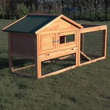 Rabbit Hutch Plastic Rabbit Hutch And Run Pisces