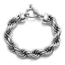 braid rope bracelet images Stunning sterling silver wide braided twist rope bracelet jpg