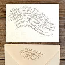 Calligraphy Wedding Invitations Wedding Invitations