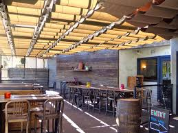cool restaurant patio fence design decorating fresh with