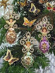 167 best dresden spun cotton reproduction feather tree ornaments