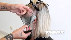 how to color u0026 highlight hair toni u0026guy hair color technique